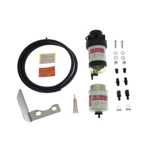 FM620DPK; Toyota LC Prado 2003-2015 120&150 Series Pre Fuel Water Sepertor Kit - Fuel Manager