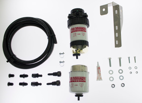 FM606DPK; Nissan Navara 2010 D40 ST-X Pre Fuel Water Separator Kit - Fuel Manager