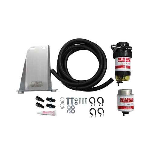 FM614DPK; Toyota Landcruiser 200 Series TD with 3 Batteries Pre Fuel Water Separator Kit - Fuel Manager