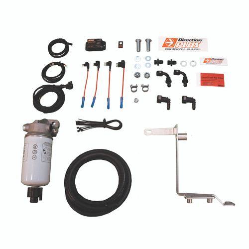 PL621DPK;  FORD RANGER PX P4AT & P5AT 2011 ON Pre Fuel Water Separator Kit - Mann + Hummel Preline 150