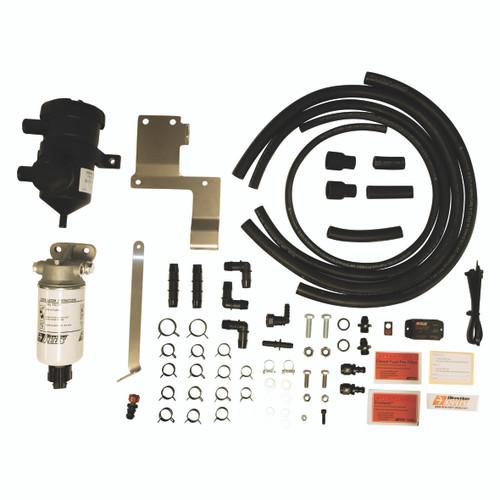 PLPV630DPK; Nissan Navara NPS300 D23 2105-on dual Fuel Water Separator & Crank Case Ventilator - Mann Hummel Provent  & Preline 150
