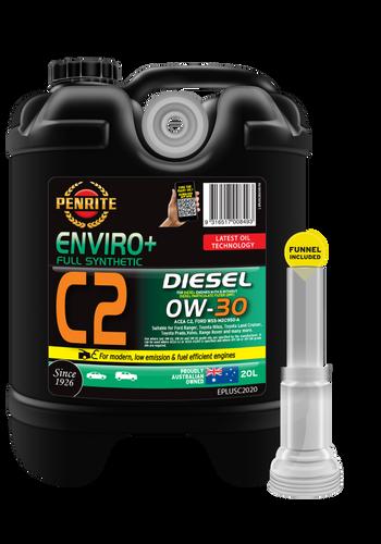 Penrite Enviro Plus C2 0W-30 20 Litre; E Plus C2, Enviro + C2