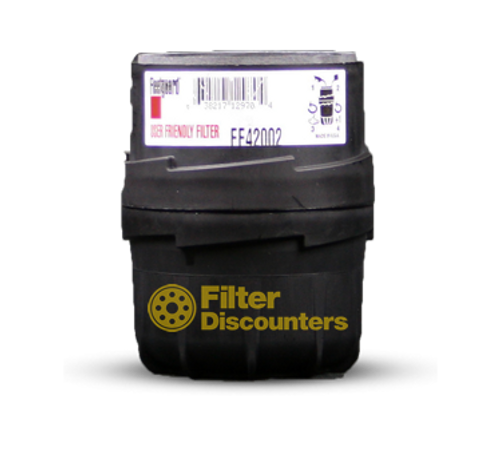 Fleetguard Fuel Filter FF42002 with Filter Discounters Logo