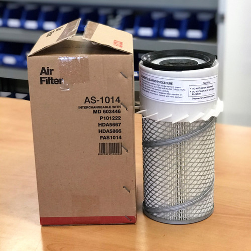 AS-1014 Sakura Air Filter; Replaces 1635865 CAT; 87035488 Case; 75715230 Lister; AF437KM; PA1667-FN; PA182052; 87035488; AF25070K; MD603446