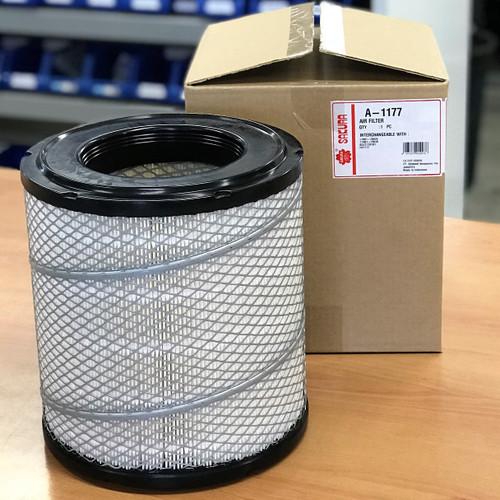 A-1177 Sakura Air Filter; Replaces 17801-78020; 17801-78030; FA1177; AF26525; P902321; WA1115; P812162; MAR1410; P849069; HDA5893; SCA1115