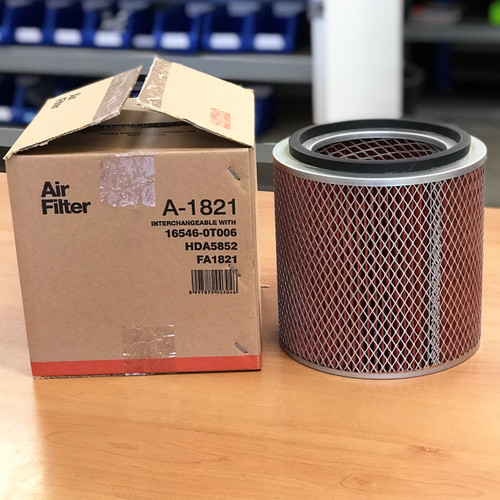 A-1821 Sakura Air Filter; Replaces 16546-0T006; HDA5852; FA1821