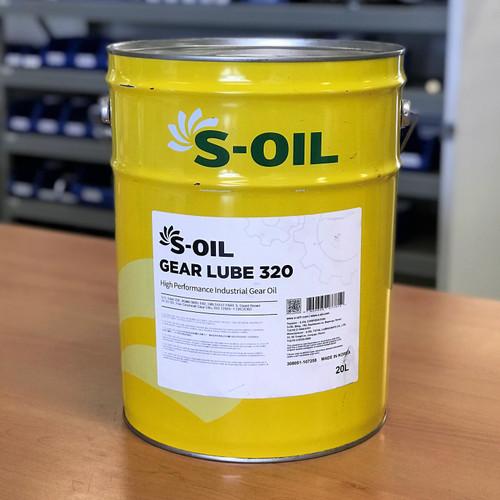 S-Oil 7 Gear Lube 320 20L; S-Oil Seven Australia; High Performance Industrial Gear Oil