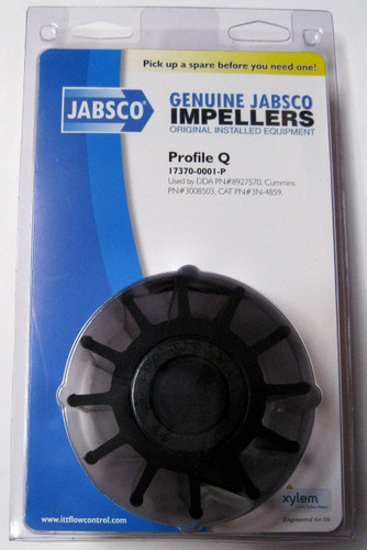 17370-0001 JABSCO IMPELLER