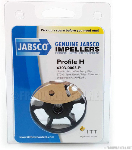 6303-0003 JABSCO IMPELLER