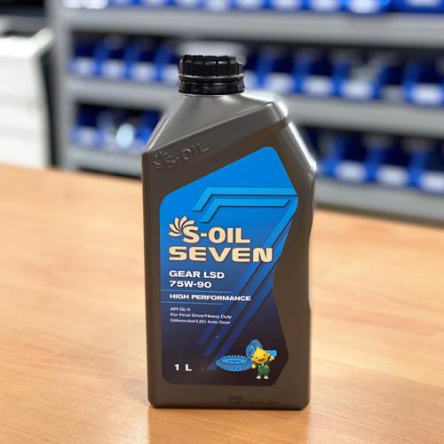 S-Oil 7 Gear LSD 75W-90 1L; S-Oil Lubricants Australia