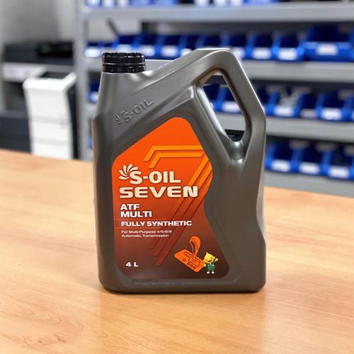 S-Oil 7 ATF Multi 4L; S-Oil Seven Australia