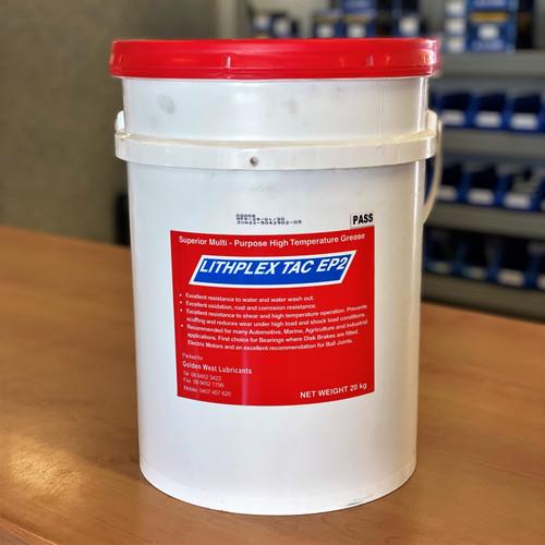 Lithplex Tac EP2 20KG Grease; Multi-Purpose High Temp Grease