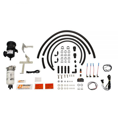 PLPV660DPK; Toyota Prado 120 1KD/1KZ dual Fuel Water Separator & Crank Case Ventilator - Mann Hummel Provent  & Mann Hummel Preline 150