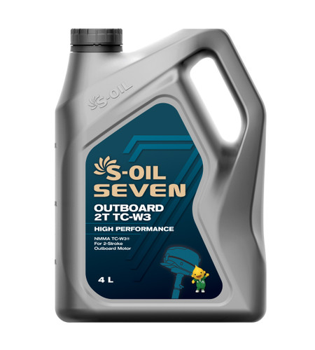 S-Oil 7 Outboard 2 Stroke TC-W3; 4 Litres