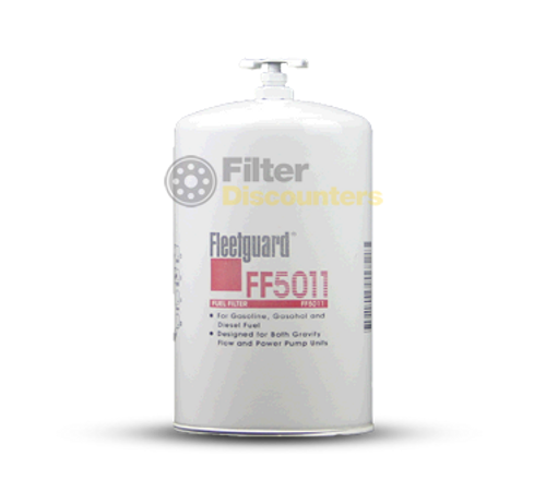 Fleetguard Fuel Filter FF5011 with Filter Discounters Logo