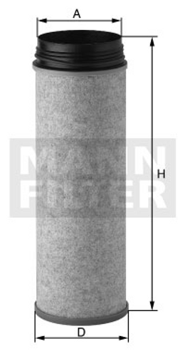 CF1430 Mann Air Filter (Dimension)