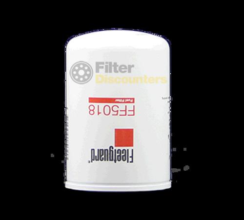 Fleetguard Fuel Filter FF5018 with Filter Discounters Logo