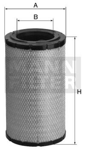 C16324 Mann Air Filter (Dimension)