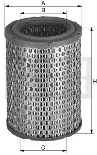 C21138/1 Mann Air Filter (Dimension)