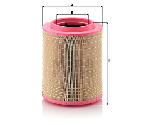 C331460/1 Mann Air Filter (Dimension)