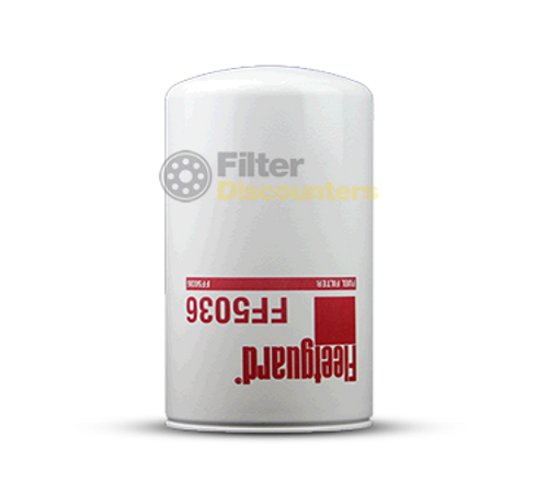 Fleetguard Fuel Filter FF5036 with Filter Discounters Logo