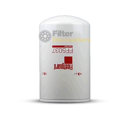 Fleetguard Fuel Filter FF5037 with Filter Discounters Logo