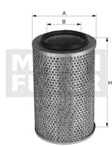 C18133 Mann Air Filter (Dimension)
