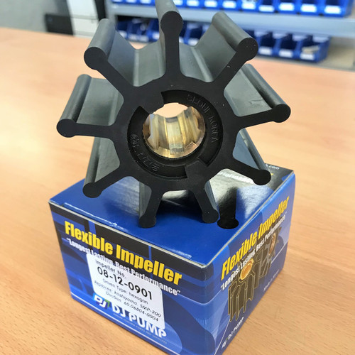 08-12-0901 DJ Pump Impeller; Replaces Kashiyama SMP-200; Doosan 6006804-0004