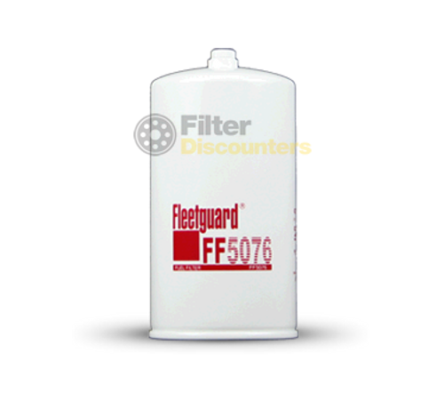 Fleetguard Fuel Filter FF5076 with Filter Discounters Logo
