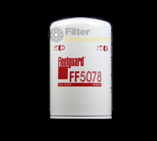 Fleetguard Fuel Filter FF5078 with Filter Discounters Logo