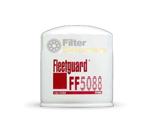 Fleetguard Fuel Filter FF5088 with Filter Discounters Logo
