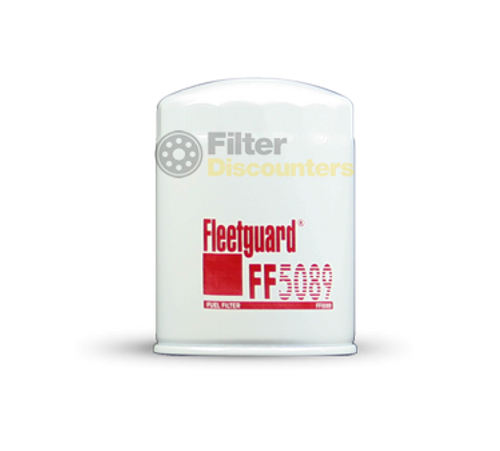 Fleetguard Fuel Filter FF5089 with Filter Discounters Logo