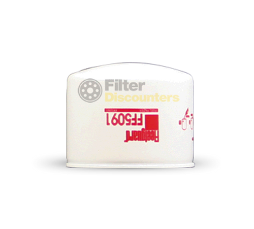 Fleetguard Fuel Filter FF5091 with Filter Discounters Logo