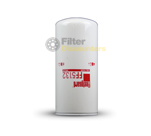Fleetguard Fuel Filter FF5132 with Filter Discounters Logo