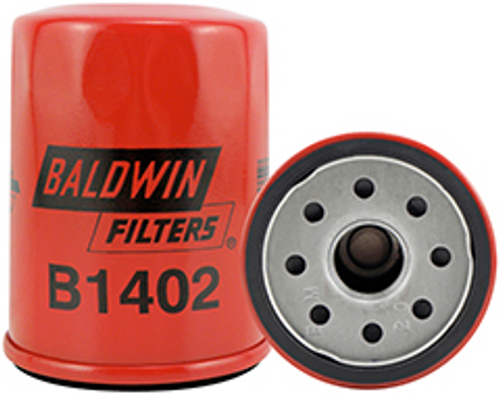 B1402 Baldwin Lube Spin-on Replaces:	Chrysler MD135737; Ford F32Z-6731-A; Mazda JEYO-14-302; Nissan 15208-31U00