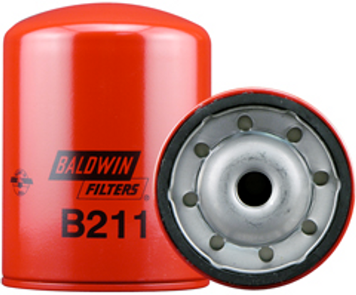 B211 Baldwin Full-Flow Lube Spin-on Replaces:	Hyster 360974