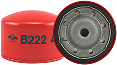 B222 Baldwin By-Pass Lube Spin-on Replaces:Isuzu 8-94169-779-0, 8-94169-779-1, 8-94169-779-2