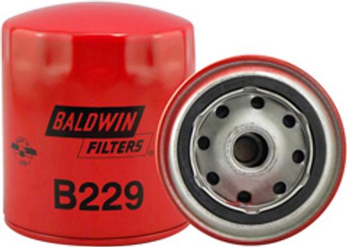 B229 Baldwin Full-Flow Lube Spin-on Replaces:Case A46158; Isuzu X13201-001; Toyota 15601-44011