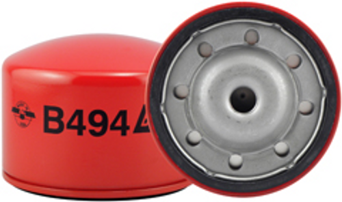B494 Baldwin By-Pass Lube Spin-on Replaces:GMC 94360419; Isuzu 8-94360-419-0