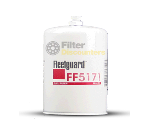 Fleetguard Fuel Filter FF5171 with Filter Discounters Logo