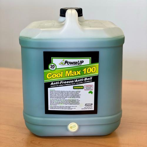 Coolant Concentrate 20L; PowerUp CoolMax 100 Anti-Freeze / Anti-Boil