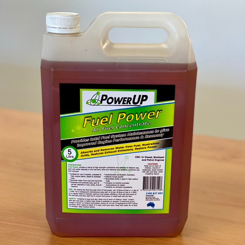 Fuel Power 5L; PowerUp: Fuel Additive