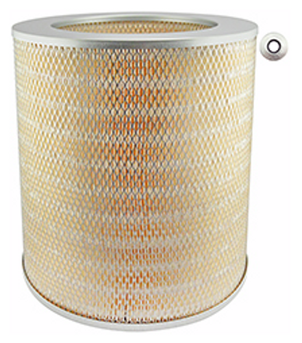 LL1630-2 Baldwin Long Life Air Element with 2-Inch Pleats Replaces Caterpillar 9L3420; Cummins 130752; GMC 247059