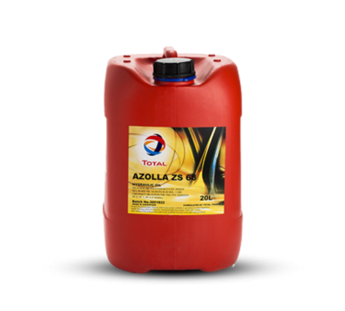 Total Azolla ZS68 Hydraulic Oil 20 Litres
