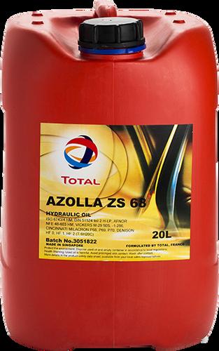 Total Azolla ZS68 Hydraulic Oil 20L