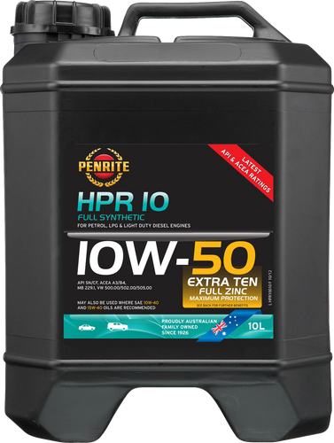 Penrite HPR 10 10W-50 10 Litres