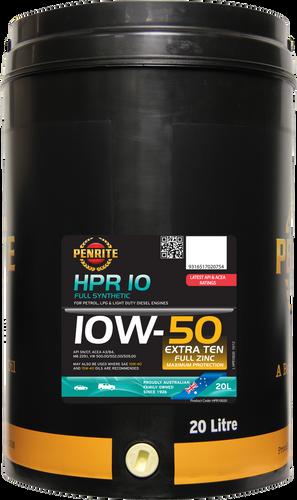 Penrite HPR 10 10W-50 20 Litres