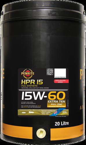 Penrite HPR 15 15W-60 20 Litres