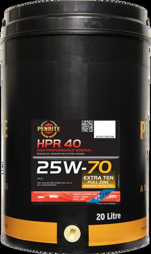 Penrite HPR 40 25W-70 20 Litres