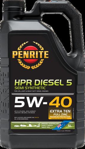 Penrite HPR Diesel 5 5W-40 5 Litres